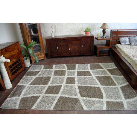 Teppich SHAGGY ALDO 530 beigen/braun