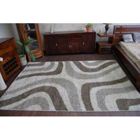 Teppich SHAGGY ALDO 531 beigen/braun