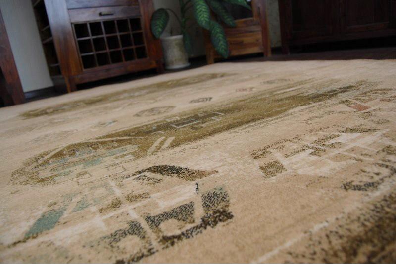 Teppich OMEGA ROSA kamel