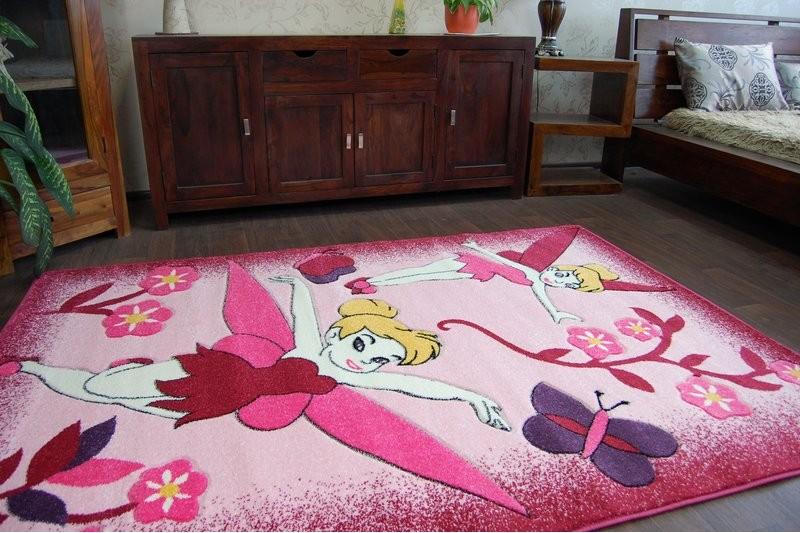teppich f r kinder happy c224 rosa fee. Black Bedroom Furniture Sets. Home Design Ideas