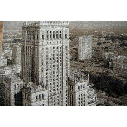 Teppich Yadigar 8843 WARSCHAU Palast der Kultur und Wissenschaft