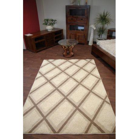 Teppich STRUCTURAL CRIS cremefarbig