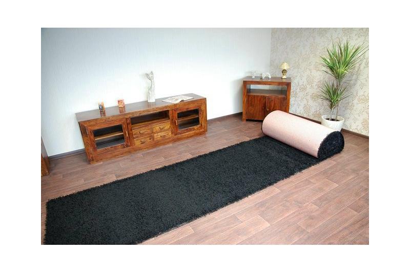 teppichboden shaggy 5cm schwarz. Black Bedroom Furniture Sets. Home Design Ideas