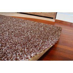 Teppich SHAGGY 5cm MIX dunkelbraun