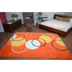 Teppich acryl BALL orange