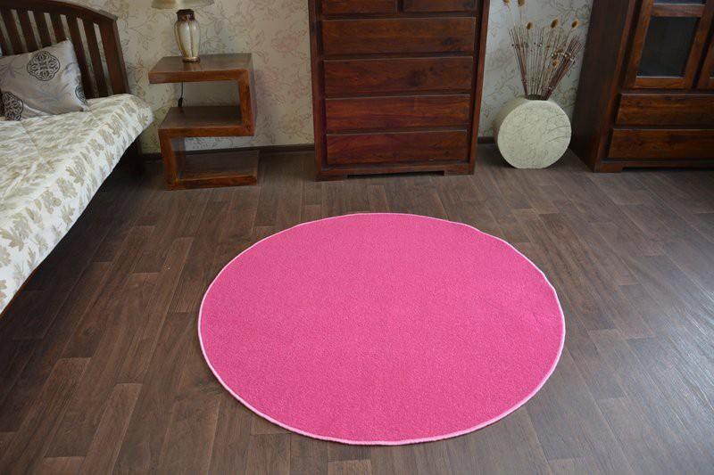 teppich rund rosa. Black Bedroom Furniture Sets. Home Design Ideas