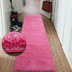 Läufer SHAGGY 5cm pink