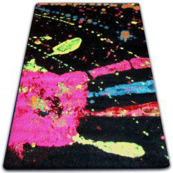 Teppich PAINT - F519 schwarz