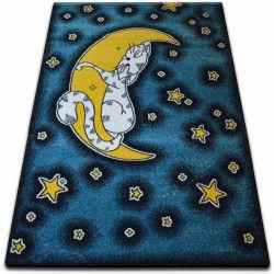 Teppich KIDS Katze blau C414