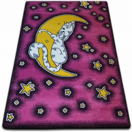 Teppich KIDS Katze rosa C414