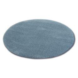 Teppich Kreis SHAGGY MICRO grau