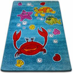 Teppich KIDS Ozean blau C424