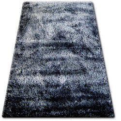 Teppich SHAGGY NARIN P901  schwarze Creme+violett