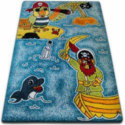 Teppich KIDS Piraten blau C416