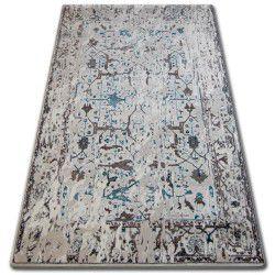 Teppich ACRYL TALAS 0309 White/Glass Blue