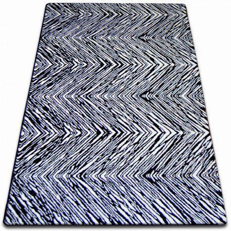 Teppich SKETCH - F754 weiß/schwarz
