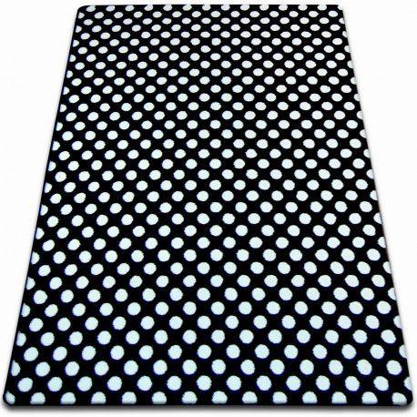 Teppich SKETCH - F764 weiß/schwarz
