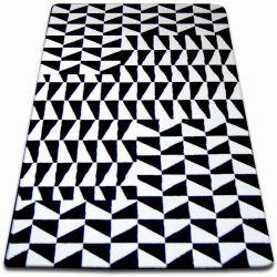 Teppich SKETCH - F765 weiß/schwarz