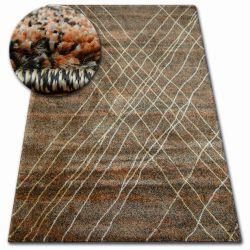 Teppich SHADOW 9367 braun / rost