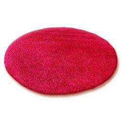 Teppich rund SHAGGY 5cm Purpur