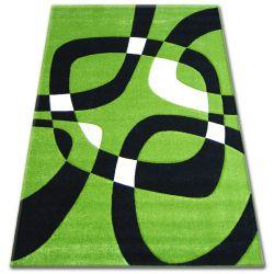 Teppich PILLY H203-8405 - grün/schwarz