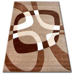 Teppich PILLY H203-8405 - Gold/braun