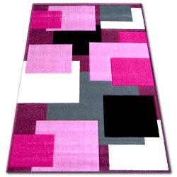 Teppich PILLY H202-8404 - purpurrot/rosa