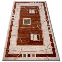 Teppich heat-set KIWI 3419 braun