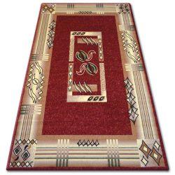 Teppich heat-set PRIMO 5123 rotwein