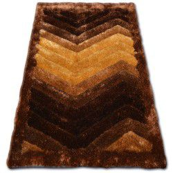 Teppich SHAGGY SOFT - 3D TYC314 braun
