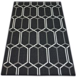 Teppich FLAT 48609/090 SISAL - Wabe