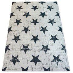 Teppich FLAT 48648/927 SISAL - Stern