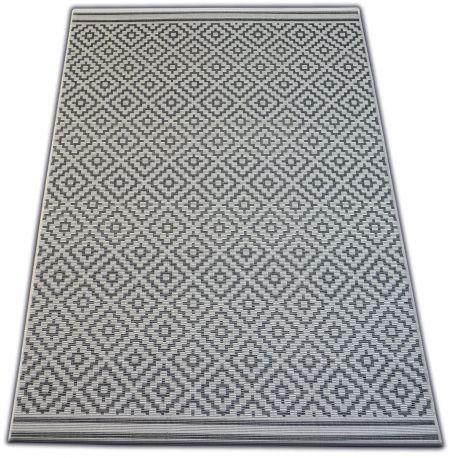 Teppich FLAT 48357/927 - Quadrate