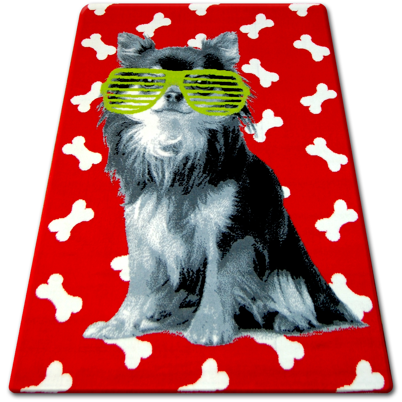 Designer Modern Teppich FLASH Britisch Flagge UK Union Jack Carpet Designteppich