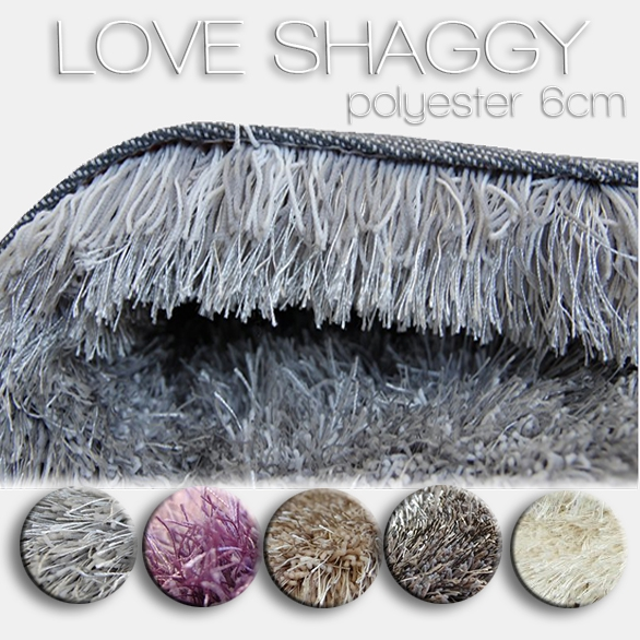 Teppich LOVE SHAGGY polyester
