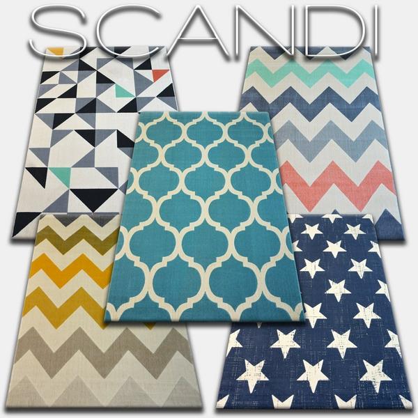 Teppiche Scandi